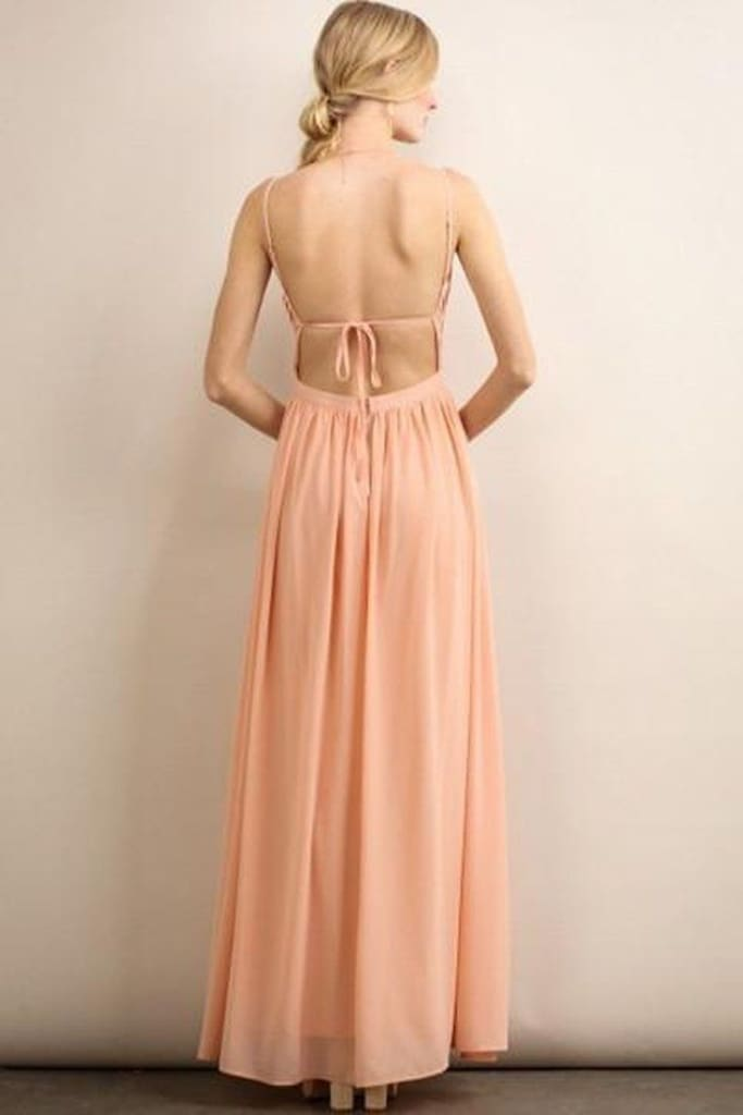 Bridesmaid Besties Maxi Dress - DRESSES - Affordable Boutique Fashion