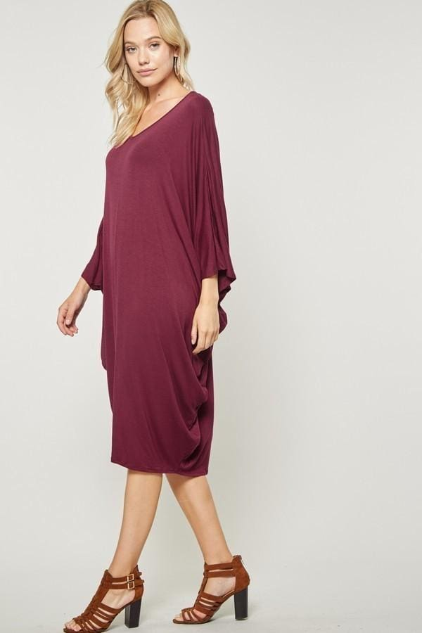 Bump & Beyond Lazy Day Slouch Dress - Tops - Affordable Boutique Fashion