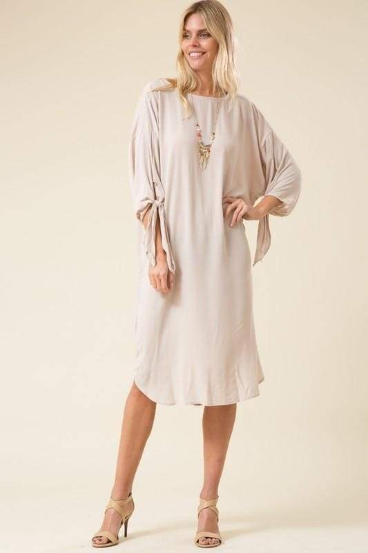 Callie Stone Midi Dress - Dresses - Affordable Boutique Fashion