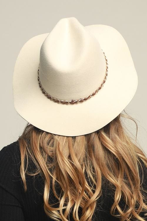 Caronline Ivory Wool Hat - Accessories - Affordable Boutique Fashion