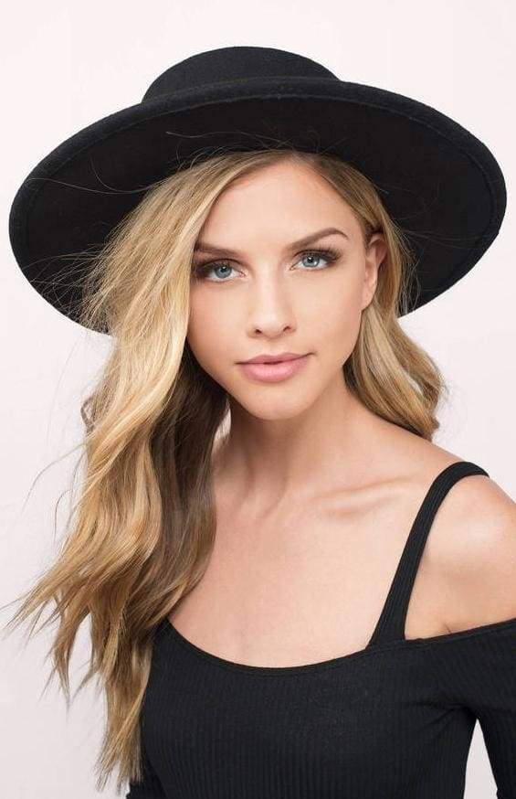 Carter Black Classic Panama Hat - Accessories - Affordable Boutique Fashion