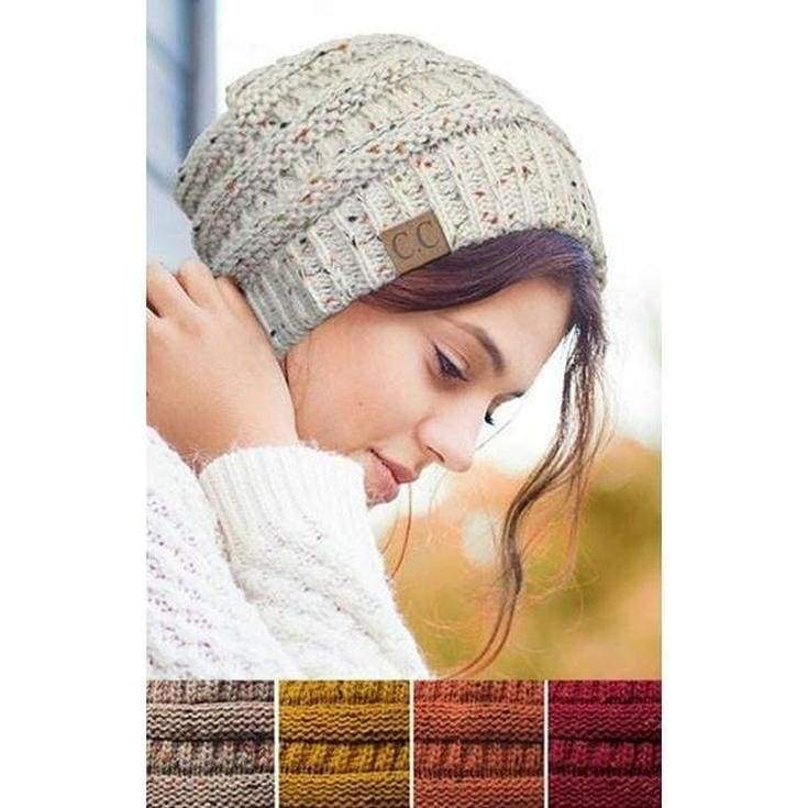 CC Confetti Knit Beanie - More Colors. - FINAL SALE - Affordable Boutique Fashion