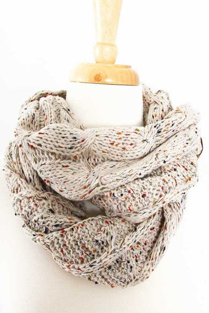 CC Confetti Knit Scarf // More Colors - FINAL SALE - Affordable Boutique Fashion