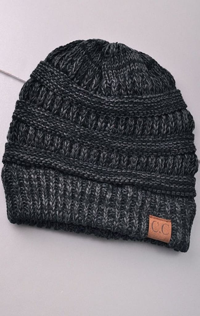 CC Lake Tahoe Beanie - Ash - FINAL SALE - Affordable Boutique Fashion