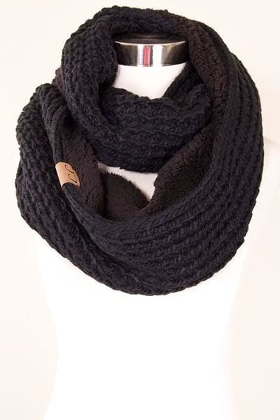 CC Sherpa Knit Scarf - More Colors. - Accessories - Affordable Boutique Fashion