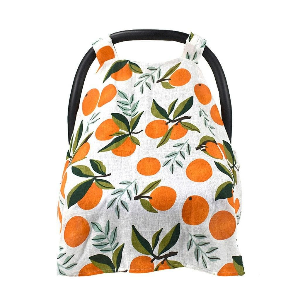 Clementine Muslin Carseat Cover