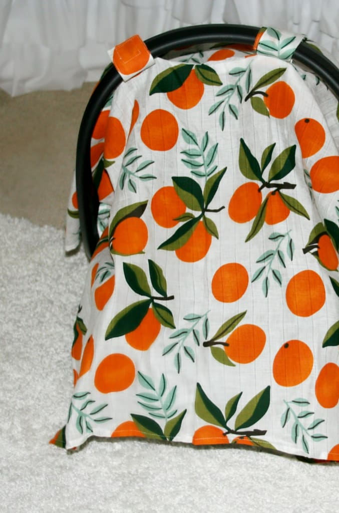 Clementine Muslin Carseat Cover - baby - Affordable Boutique Fashion