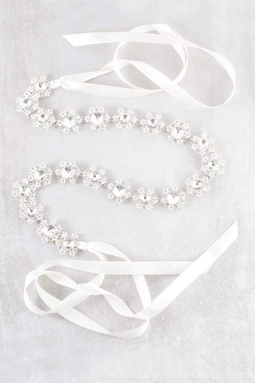 Daniella Bridal Sash - Accessories - Affordable Boutique Fashion