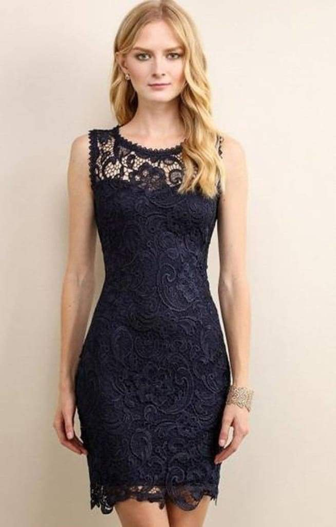 Date Night Lace Dress . - Dresses - Affordable Boutique Fashion
