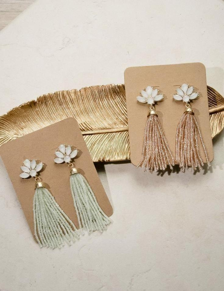 Euphoria Tassel Earrings - Tops - Affordable Boutique Fashion