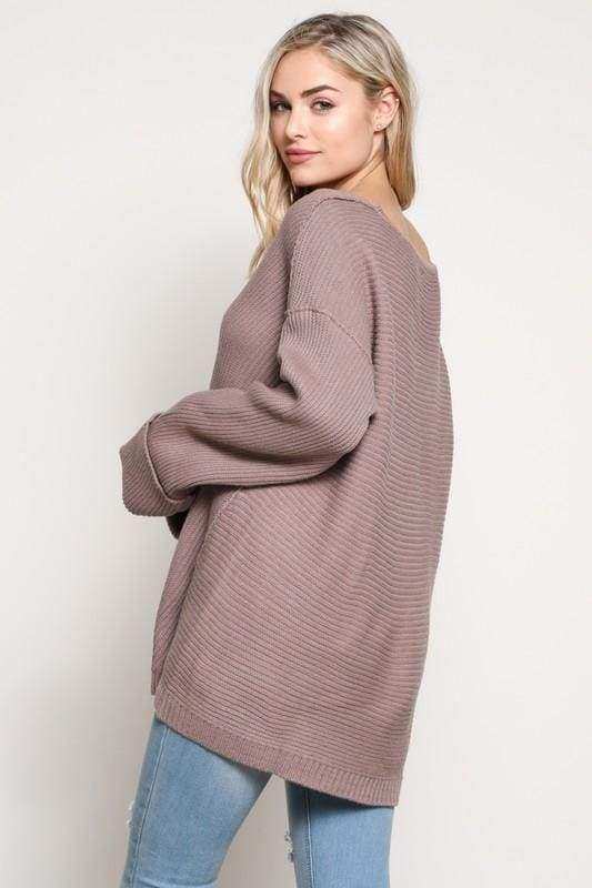 Finer Things Knit Pullover - - SWEATER - Affordable Boutique Fashion