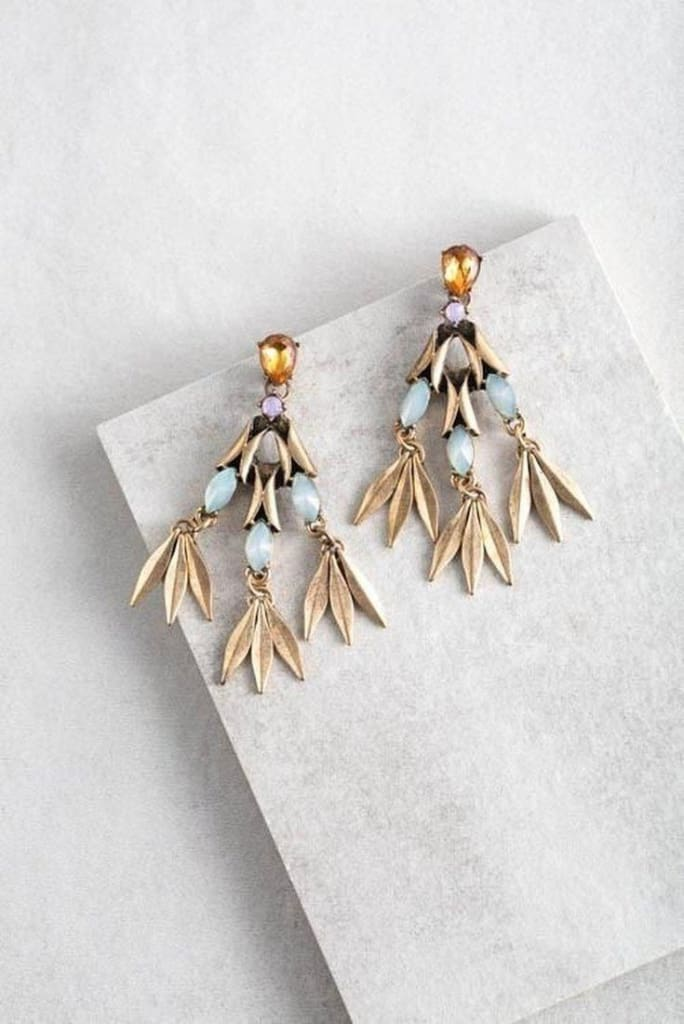Flay Dangle Earrings - JEWELRY - Affordable Boutique Fashion