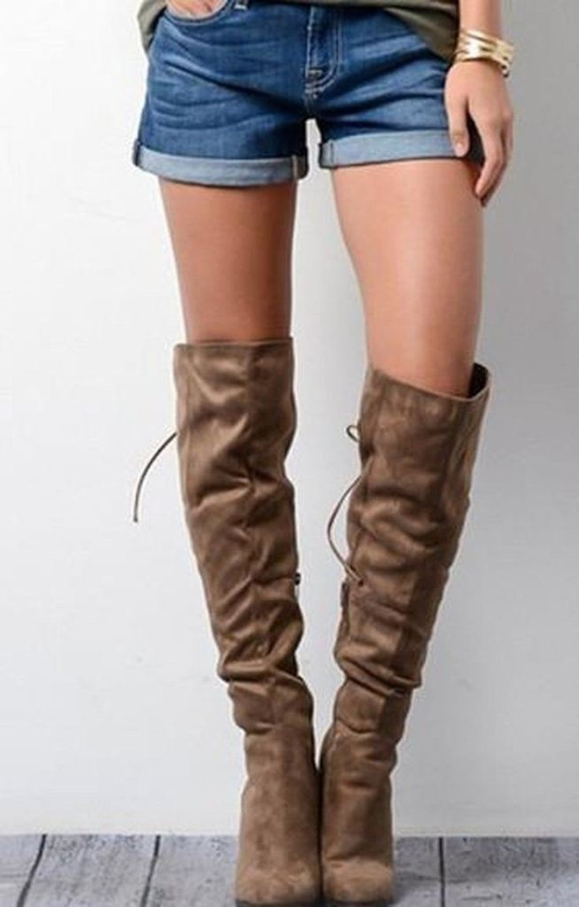 Forsett Knee High Boots -  - Affordable Boutique Fashion