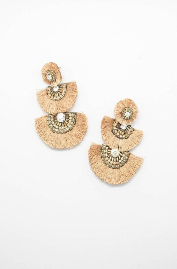 Gilli Tassel Earrings - earring - Affordable Boutique Fashion