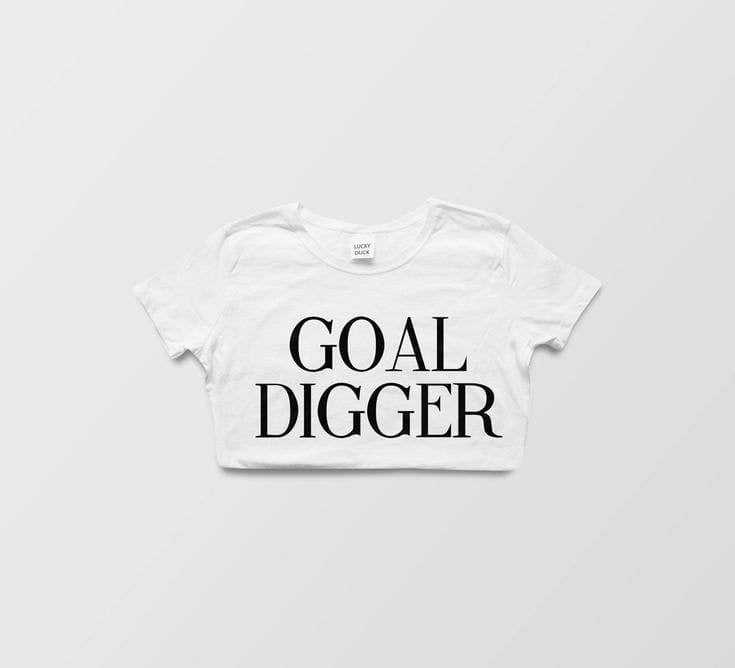 """Goal Digger"" Graphic Tee - Graphics - Affordable Boutique Fashion"