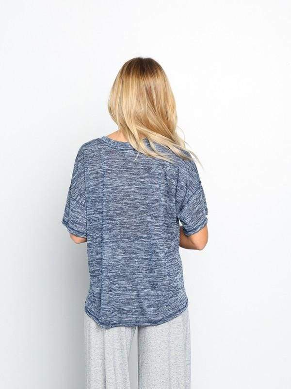 Heartland Knit Tee - Tops - Affordable Boutique Fashion