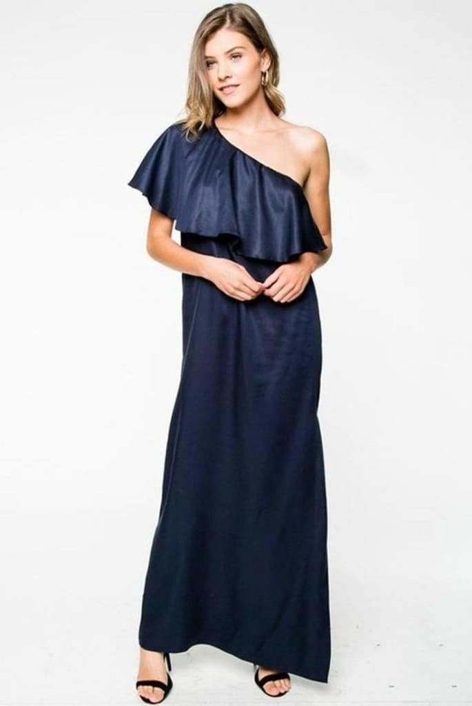Holiday Soiree Gown by EVERLY - DRESSES - Affordable Boutique Fashion