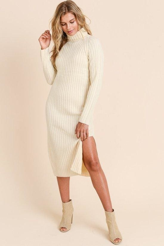 9d9d4c96b33 Ivory Towers Sweater Dress - SALE - Affordable Boutique Fashion. Ivory  Towers Sweater Dress - SALE - Affordable Boutique Fashion