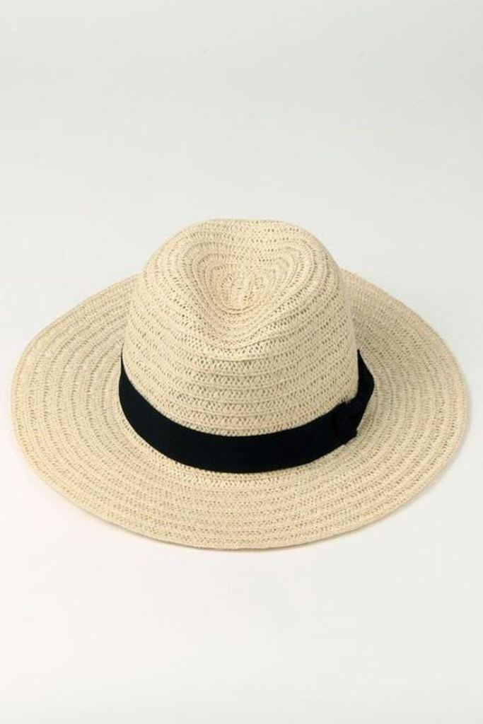 Jayne Classic Panama Hat - Accessories - Affordable Boutique Fashion