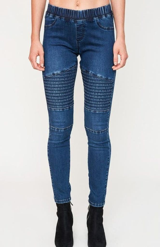 Jett Setter Distressed Moto Leggings - Two Colors - Bottoms - Affordable Boutique Fashion