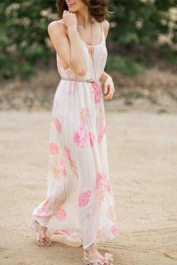 Julie Floral Maxi Dress by Lovestitch - DRESSES - Affordable Boutique Fashion