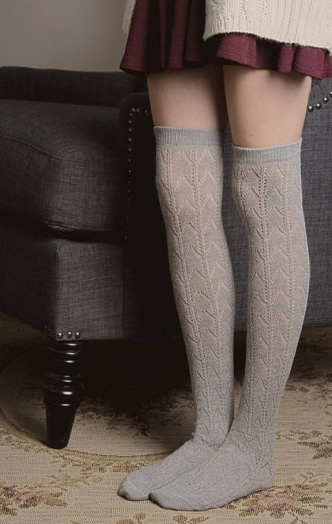 Knit Boot Socks -  - Affordable Boutique Fashion