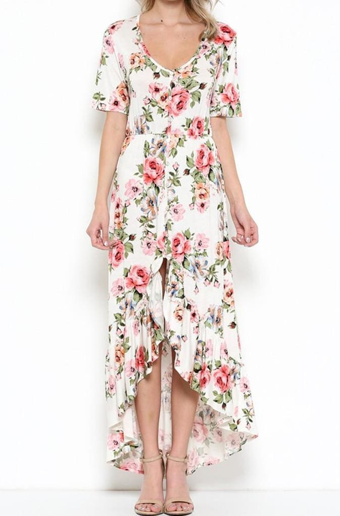 Longwood Gardens Maxi Dress . - DRESSES - Affordable Boutique Fashion