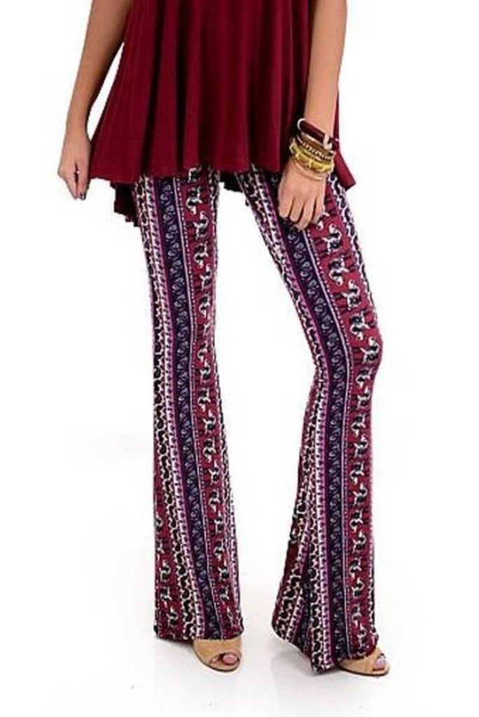 Lucky Duck Boho Bell Bottoms - (2 Colors) - Bottoms - Affordable Boutique Fashion