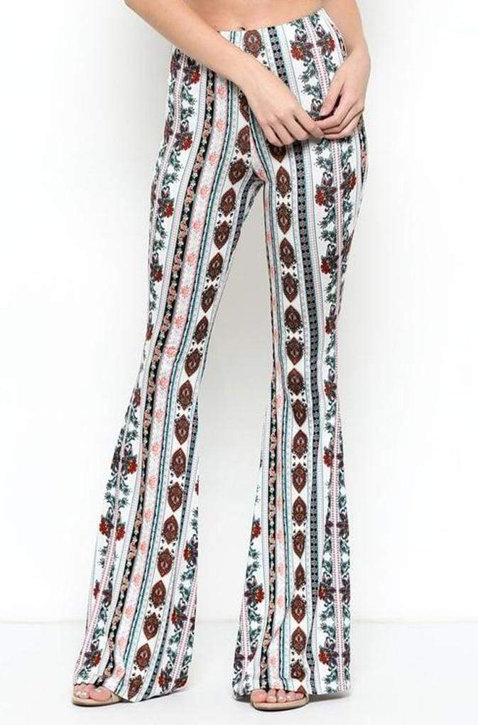 Lucky Duck Love Spell Bell Bottoms - Bottoms - Affordable Boutique Fashion