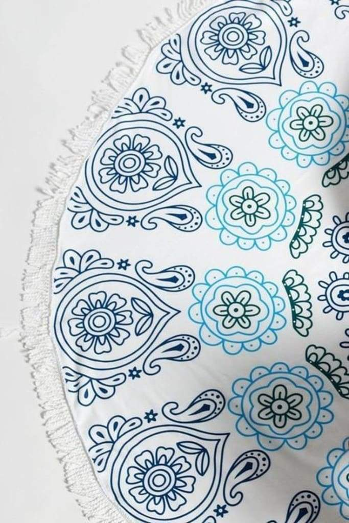 Mandala Seabreeze Round Beach Towel -  - Affordable Boutique Fashion