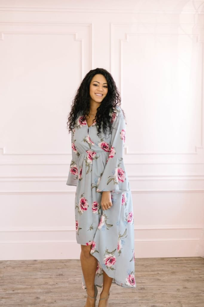Milo Floral Maxi Dress - Rompers & Jumpsuits - Affordable Boutique Fashion