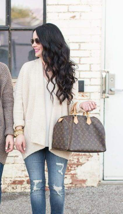 Noelle Ribbed Knit Cardigan - - Sweaters - Affordable Boutique Fashion