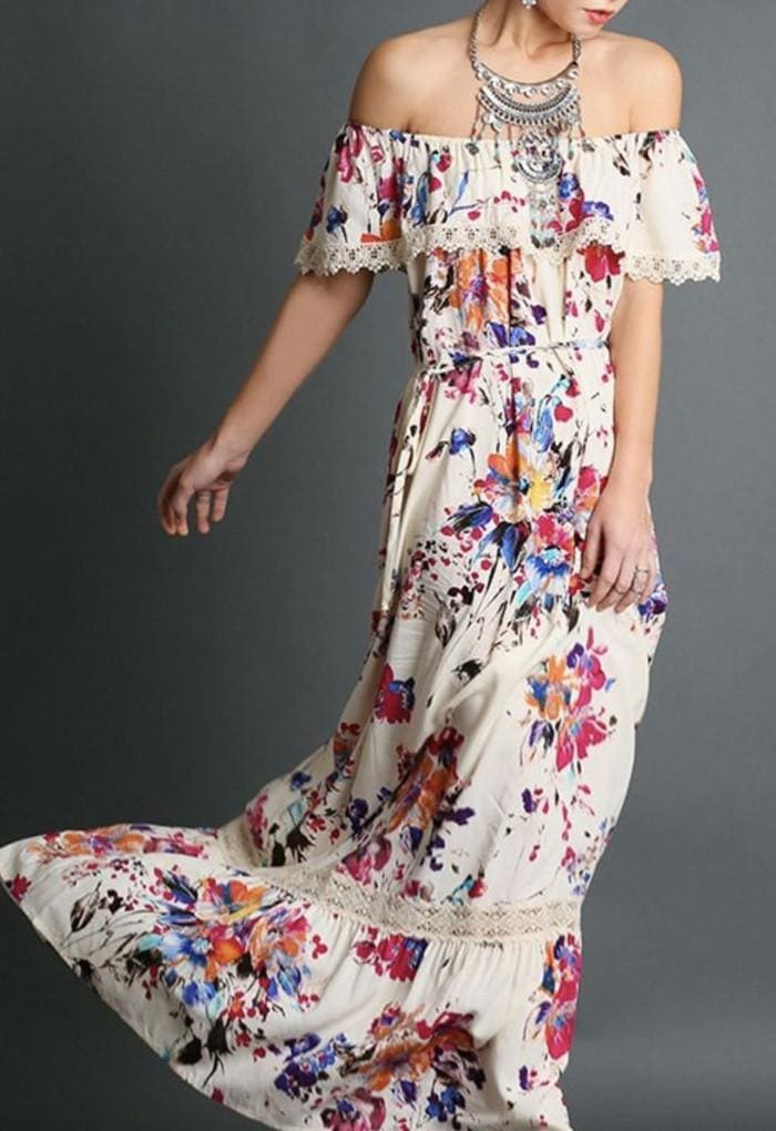 Perfectly Playful Summer Maxi Dress - RESTOCKED. . - DRESSES - Affordable Boutique Fashion