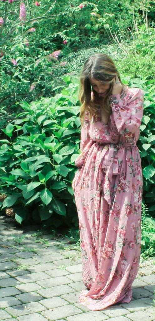 Romance Maxi Dress | Antique Mauve - DRESSES - Affordable Boutique Fashion