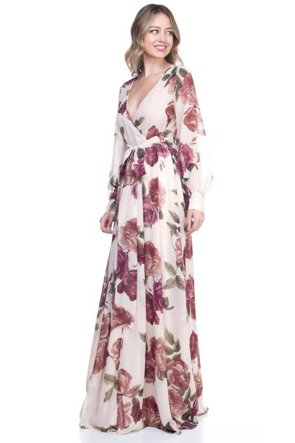 Romance Maxi Dress | Rose all Day - DRESSES - Affordable Boutique Fashion