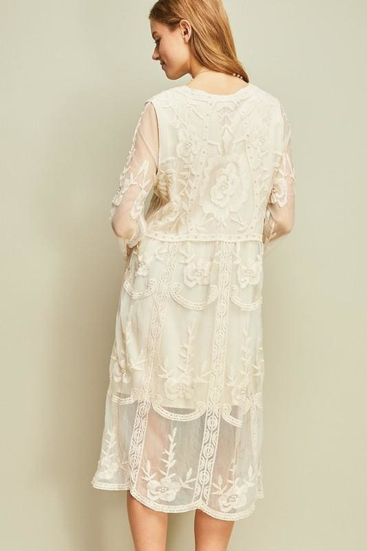 f323a97166 Roxy Lace Midi Dress - Dresses - Affordable Boutique Fashion
