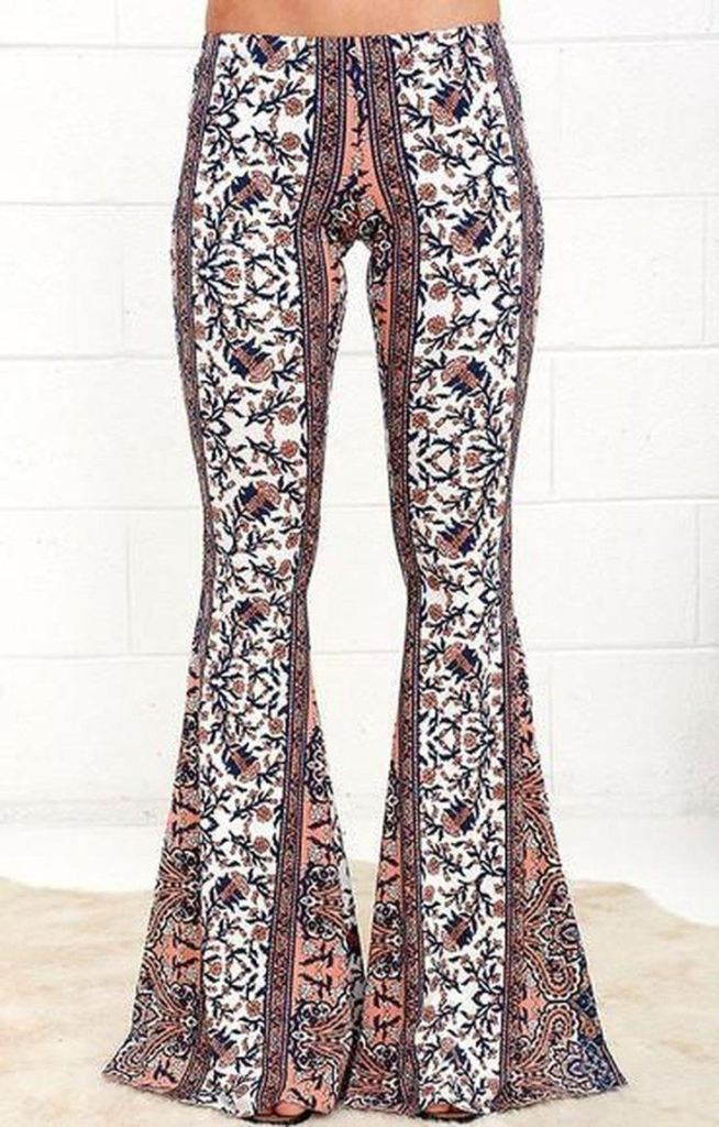Royally Ripe Lucky Duck Bell Bottoms - Bottoms - Affordable Boutique Fashion