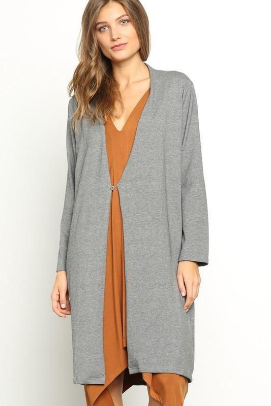 Sarasota Everyday Essentials Coat-igan - Tops - Affordable Boutique Fashion