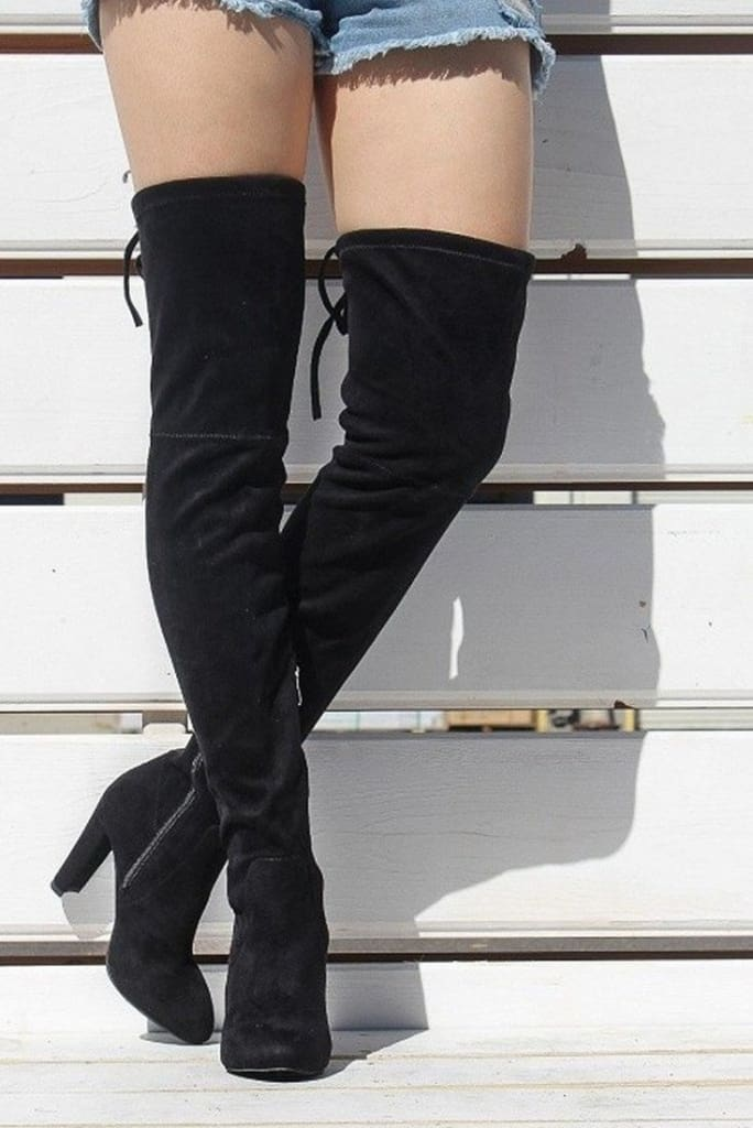 Sarasota Over The Knee Boots . -  - Affordable Boutique Fashion