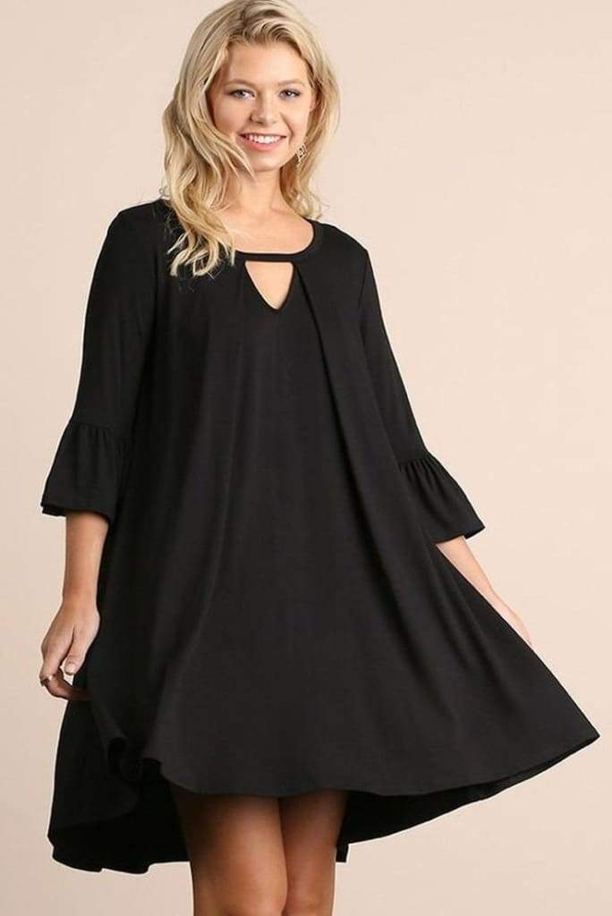 Southport Shift Dress - Black - Dresses - Affordable Boutique Fashion