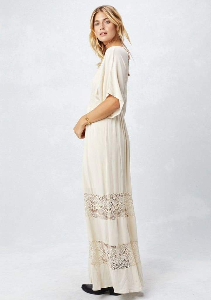 Sunset Harbor Caftan Kimono Maxi - Dresses - Affordable Boutique Fashion