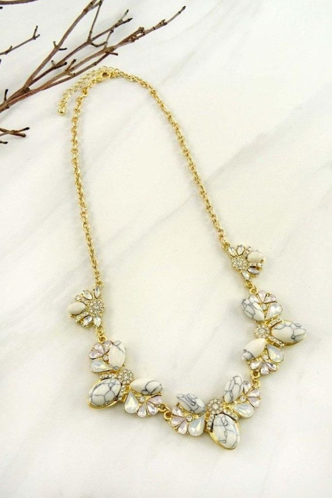 Tale as Old as Time Statement Necklace -  - Affordable Boutique Fashion
