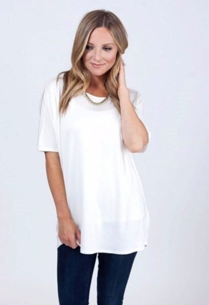 The Capsule Tee - White - Tops - Affordable Boutique Fashion