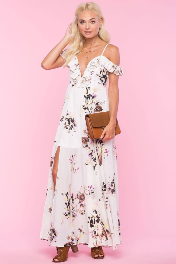 The Claudia Maxi - White - DRESSES - Affordable Boutique Fashion