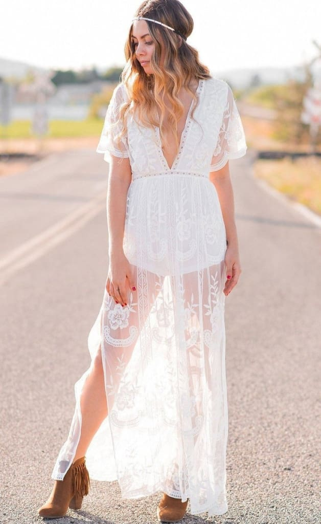The Gemma Dress | White - Dresses - Affordable Boutique Fashion