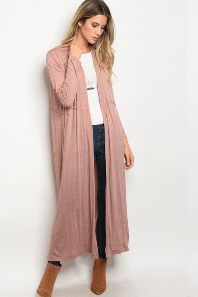 The Journey Cardigan | Mauve - sweater - Affordable Boutique Fashion
