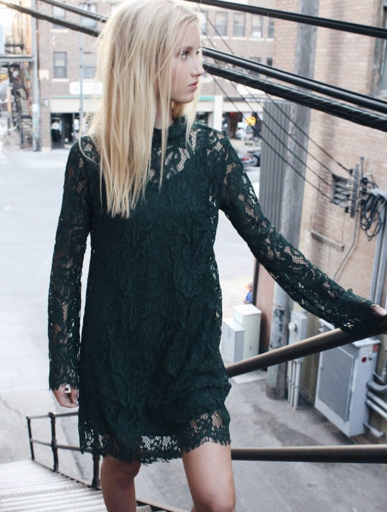 "the ""Luxe"" Lace Shift Dress - Dresses - Affordable Boutique Fashion"
