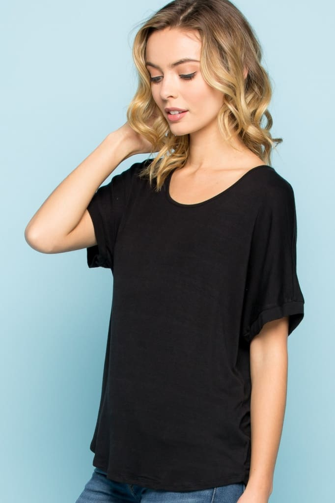 the Momiform Oversized Tee - Tops - Affordable Boutique Fashion