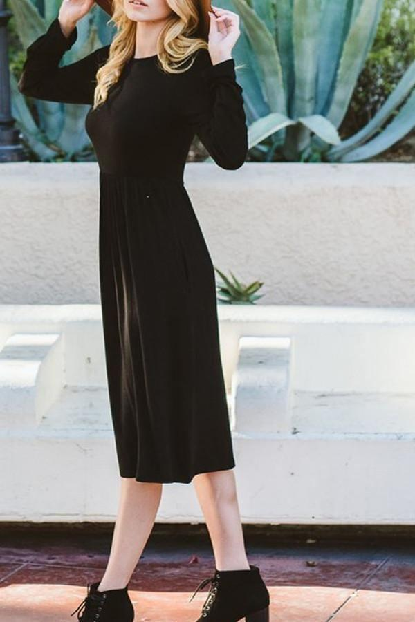 the Providence Maxi Dress - Black - Dresses - Affordable Boutique Fashion