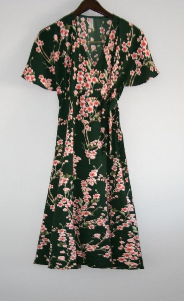 The Spring Evergreen Wrap/Robe - SALE - Affordable Boutique Fashion